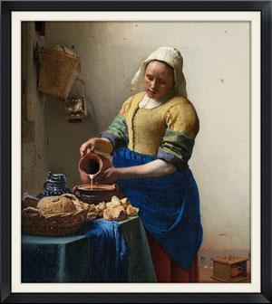 - Jan Van Der Meer, The Milk Maid