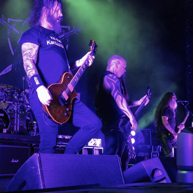 DTE Energy Center July 11th 2015.  #repentless  Photo by @ajfaber