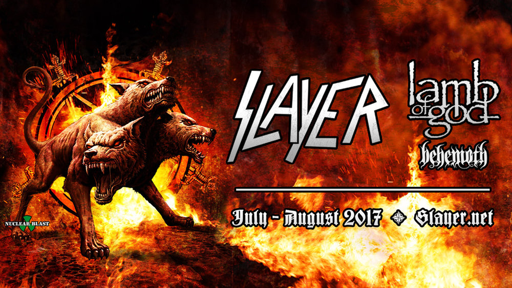 Slayer Headlining Summer Tour With Lamb Of God And Behemoth Slayer
