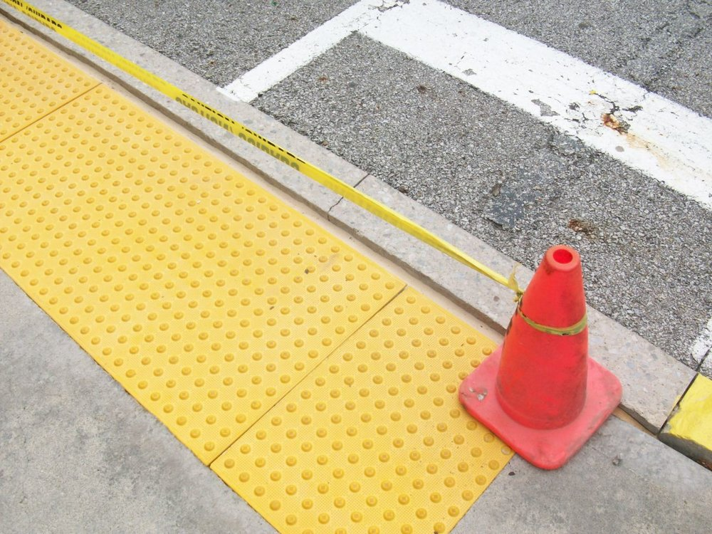 Safety Curb and Parking Lot Painting