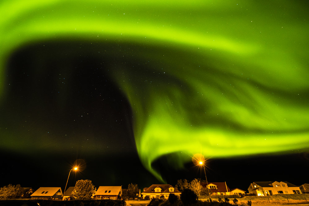 Northern Lights in Álftanes