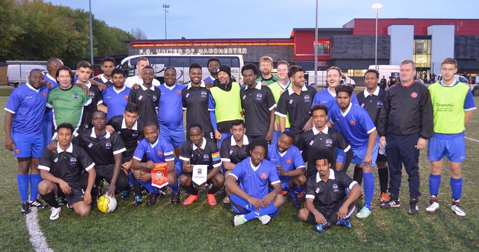 United Glasgow FC Men's Development Team vs FC United of Manchester Survivors of Torture