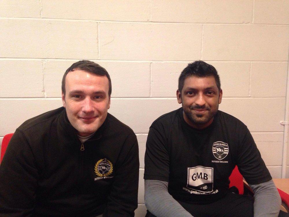 David and Sandeep