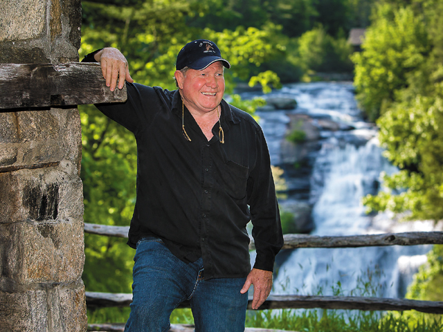 Owner Rhett Leonard also leads the waterfall tours
