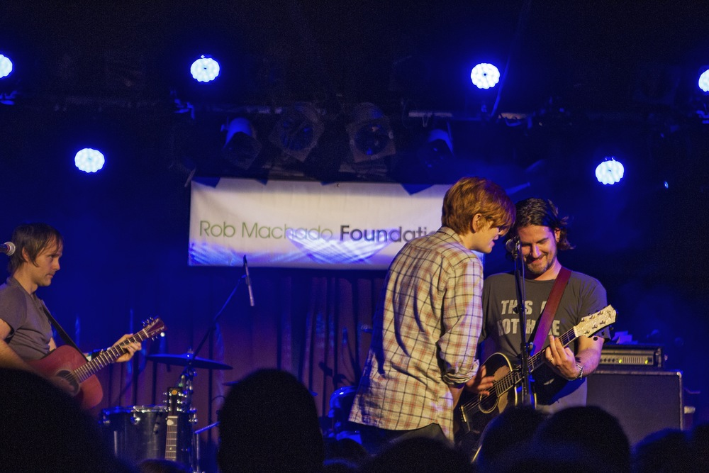 Brett Dennen and Matt Nathanson. (Photo: JP Van Swae)