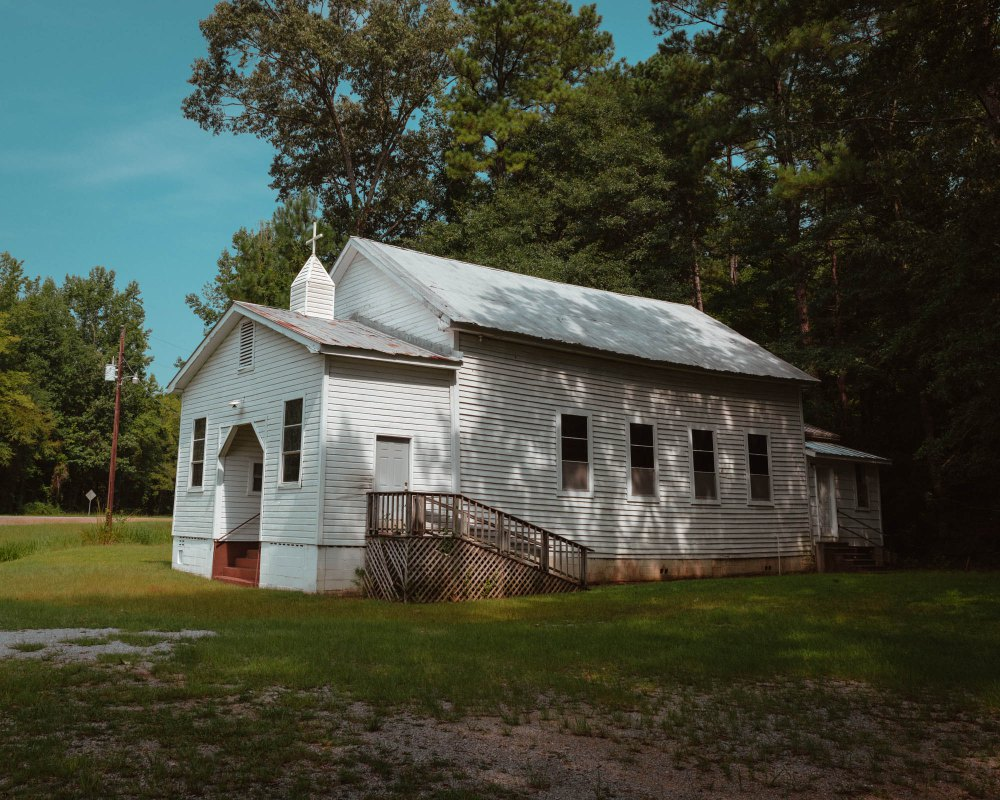 Church, Sprott, AL, 2015 by Garrick Morgenweck