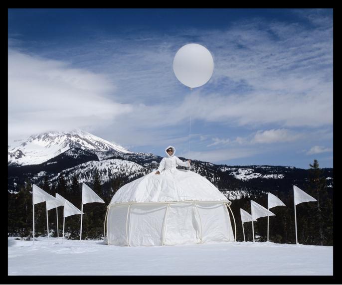 Ice Queen Glacial Retreat Dress Tent
