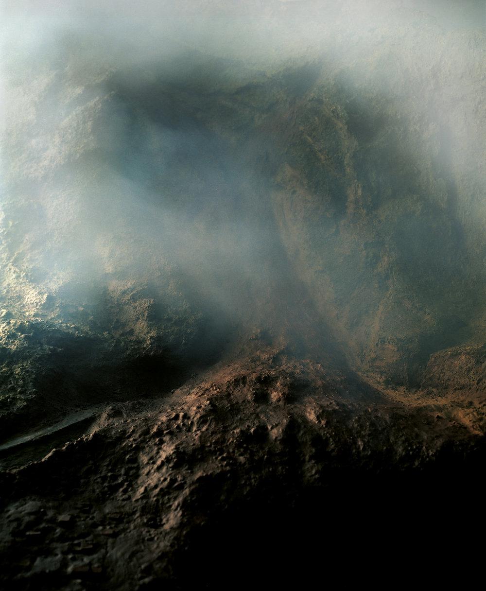 """Sonja Braas,  Landslide , 2005; C- Print, Diasec, Framed, 73 x 59"""" / 185 x 140 cm"""
