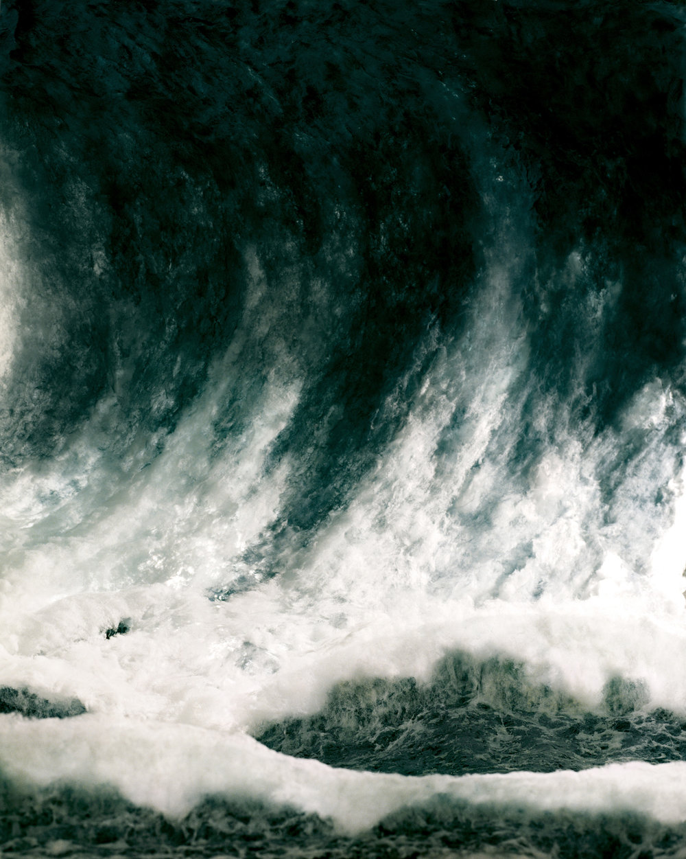 Sonja Braas,  Wave , 2008; C- Print, Diasec, Framed, 73 x 59'' / 185 x 149 cm