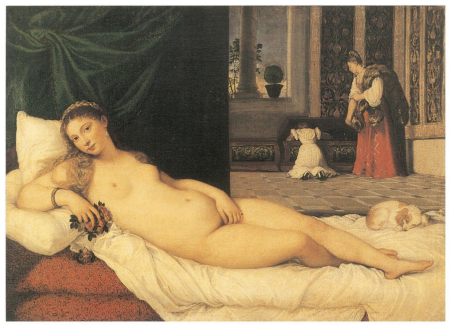 Venus of Urbino , 1534 by Titian