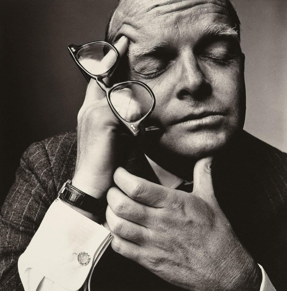 Irving Penn, Truman Capote, 1965