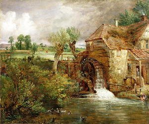 John Constable,  Mill at Gillingham, Dorset , 1825-1826 [4]