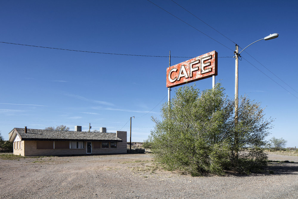 Brian K. Edwards,  Café, Encino, New Mexico , 2017