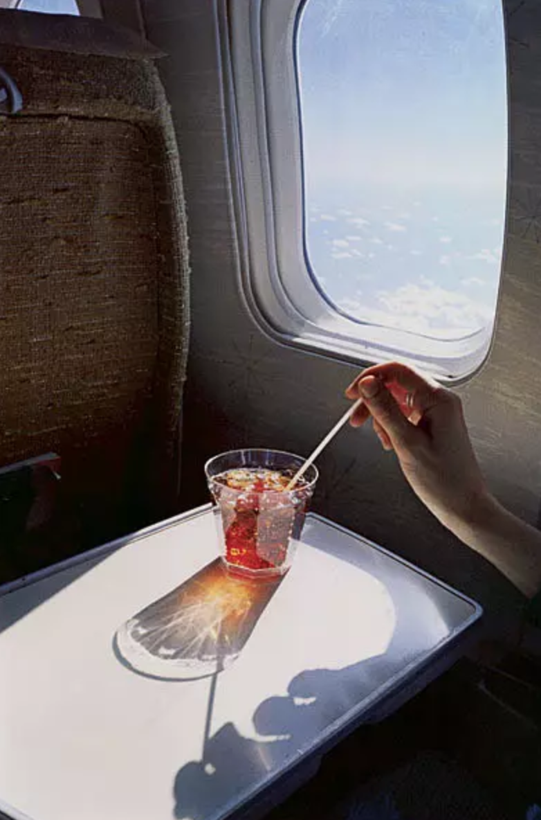 En route to New Orleans, William Eggleston