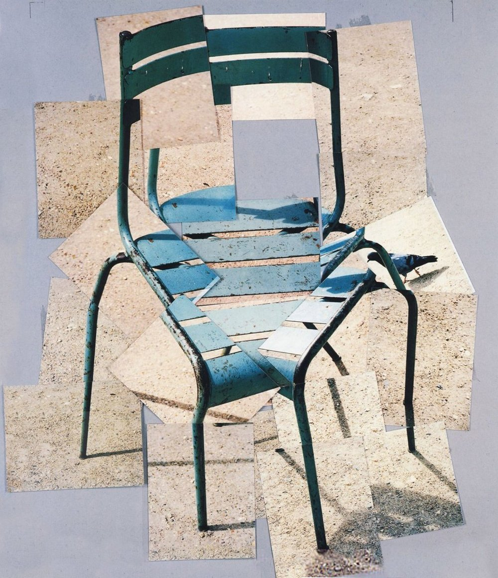 David Hockney, A Chair Jardin du Luxembourg'