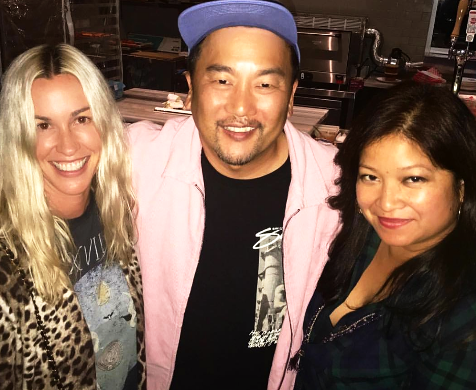 With Alanis & Chef Roy Choi — the two people who inspire me the most!