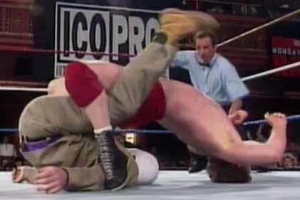 Bob Backlund just watched The Exorcist.