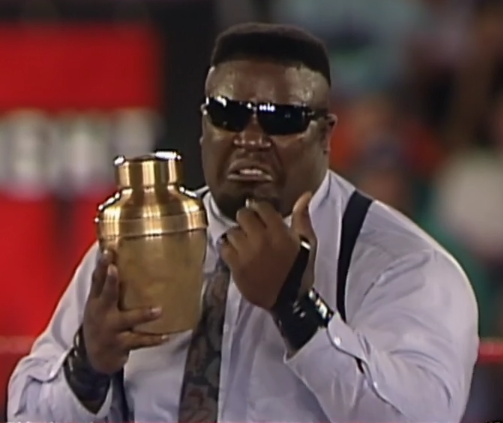 For his sake, I hope that urn is full of talent.