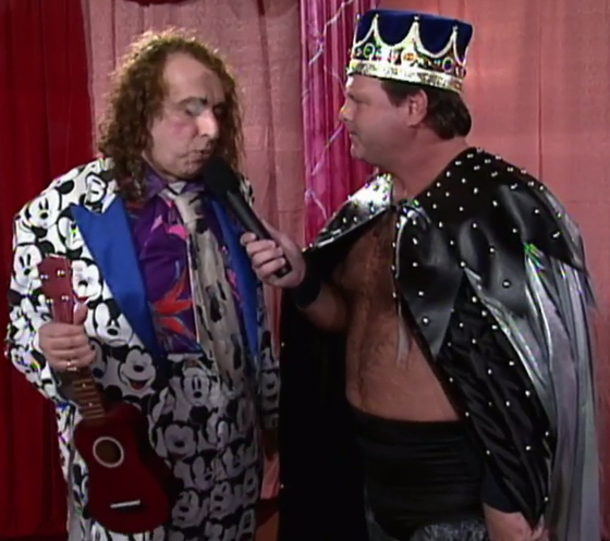 Sure Lawler, only one of you looks ridiculous.