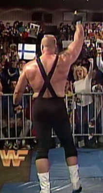 The smark holding the flag of Finland gives me hope for wrestling fans in 1993.