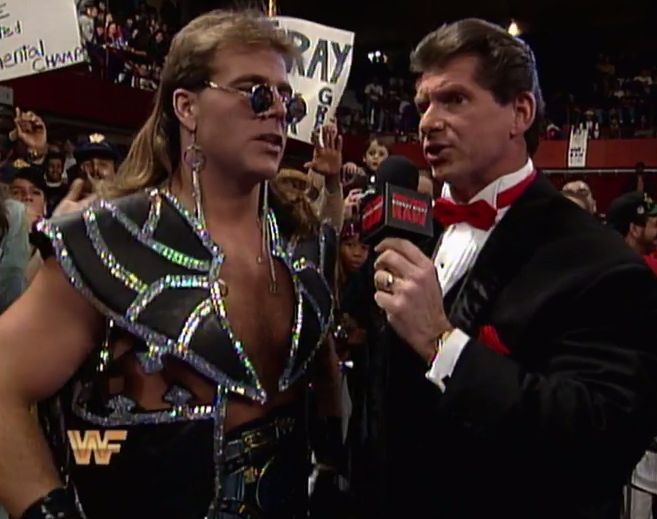 This is the closest thing Shawn Michaels had to formal wear.