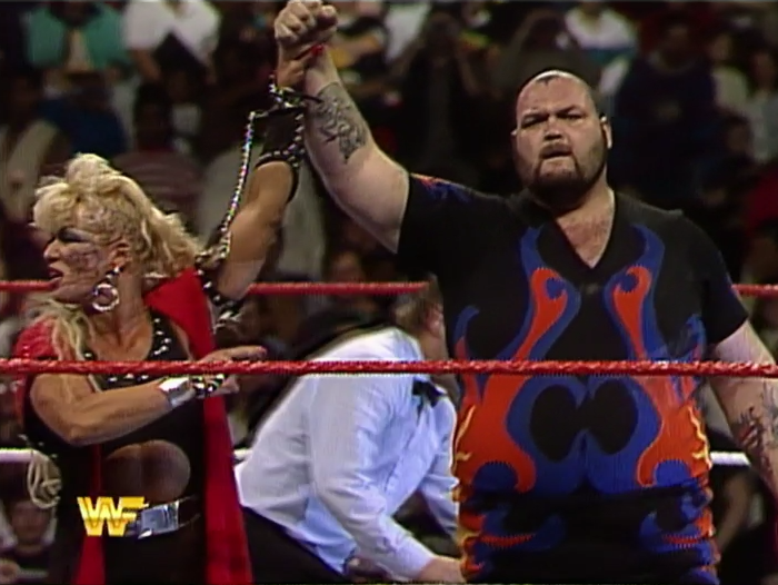 Honestly though, I don't know why Luna Vachon didn't just beat up Bastion Booger herself.