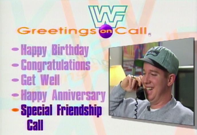 Wait a sec, a special friendship call? That sounds awesome! I wonder if the number still works...