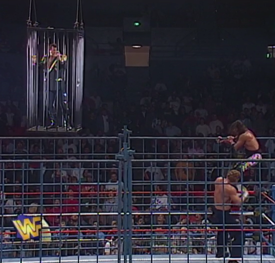 Why does WWF have all these cages lying around? Are they actually the World Wildlife Fund?
