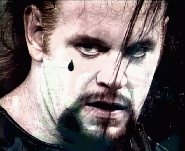 When I said the Undertaker was edgy, I meant that he started listening to The Cure.