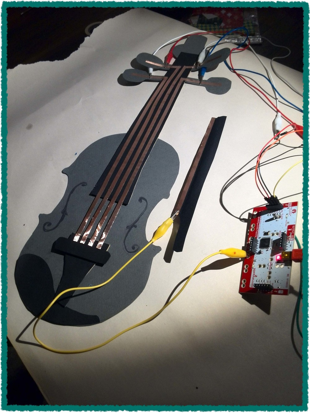 STEAM: Design, make and play your own musical instrument.