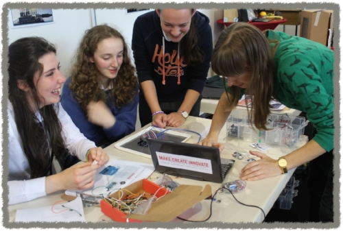 Engaging young women in technology at Transition Year Expo