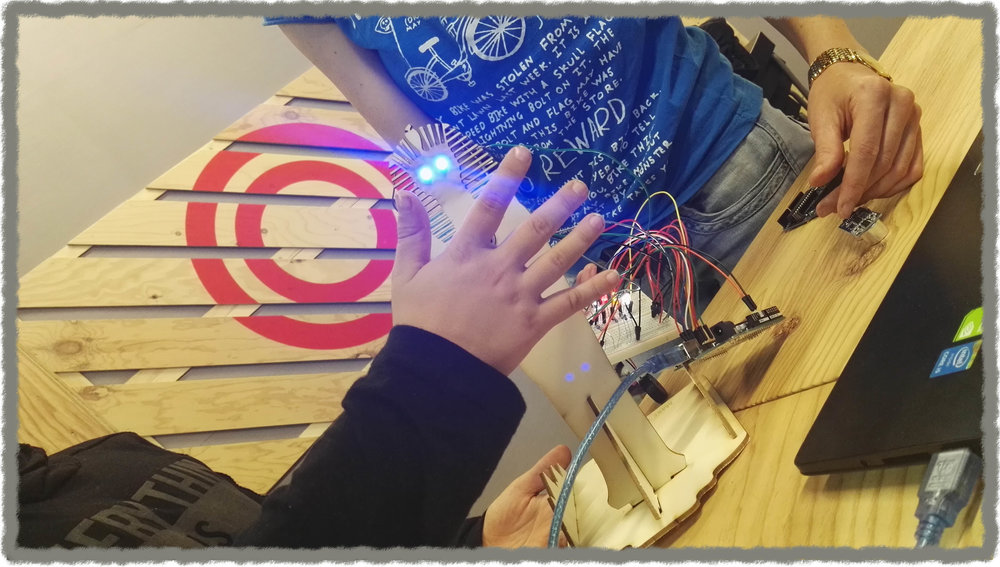 Arduino workshop at Creative Museum Residency