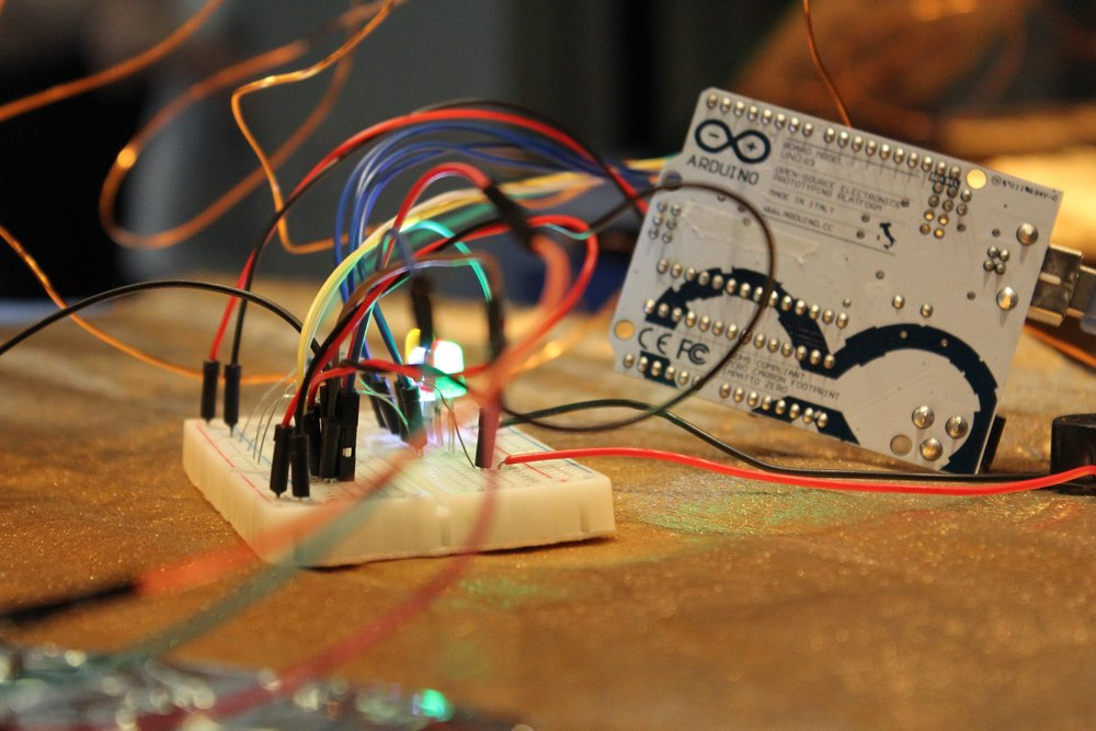 October 7TH & 8TH A Maker Approach to Art and Interactivity for Artists, Makers & Educators An introductory workshop to electronics for creative projects in the classroom, makerspace, or art space. More information...