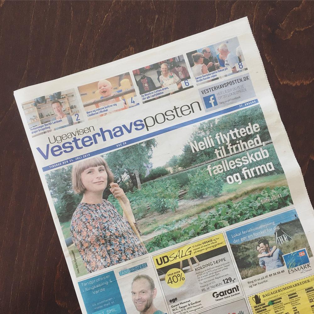 Vesterhavsposten – Juli 2018