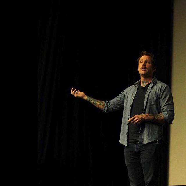 We would like to thank Tim Mousseau for coming to our campus last night for our Green Light Go keynote event! It was such a great experience hearing from Tim as he shared his own story and called our community to action to stop sexual assault. Thank you to everyone who was able to attend, and we hope his message resonated with all of you. #ItsOnUs