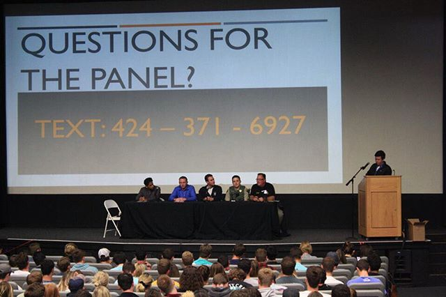 Thank you to everyone that attended yesterday's 911 Emergency Protocol Panel. We'd like to thank our panelist representatives from UCSB's Alcohol and Drug Program, Emergency Medical Services, Isla Vista Foot Patrol, and UCPD, as well as the Office of Student Life.