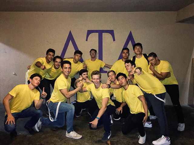 So proud of our boys for dancing in the name of philanthropy. Thank you @piphiucsb for hosting Arrowjam, we are always excited to help increase children's literacy with Read Lead Achieve 📚