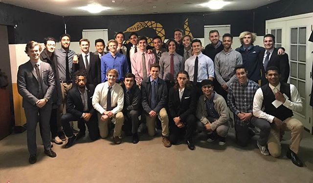 Better late than never, congratulations to the newly initiated brothers of Kappa class #facey