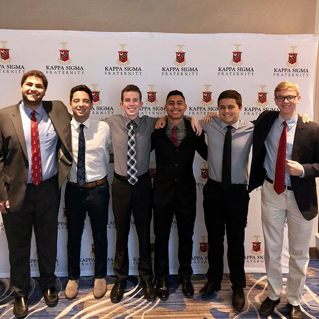 Our brothers had a great time representing Epsilon-Theta at the 2018 Kappa Sigma Leadership Conference in New Orleans this weekend! The brotherhood is stronger than ever as they meet brothers from all over the world and work to develop our men into the leaders of tomorrow #KSLC2018 #ΑΕΚΔΒ