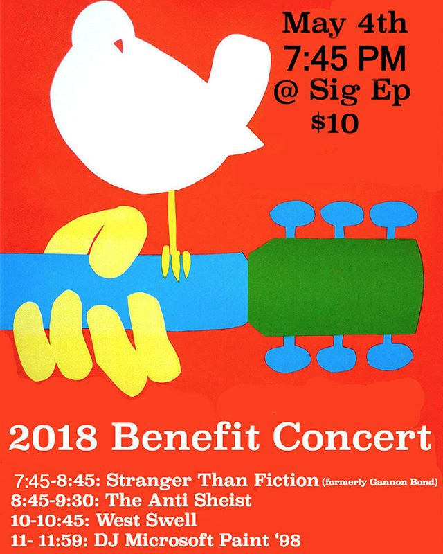 Come out and show some love for our 2018 Spring Benefit Concert! Doors open Friday at 7:30pm and tickets will be sold at the front (venmo or cash) with all proceeds going to @jdrfhq finding a cure for type 1 diabetes. We're stoked to see you all there! #forthekids
