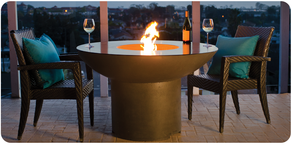 Lotus Dining Fire Table