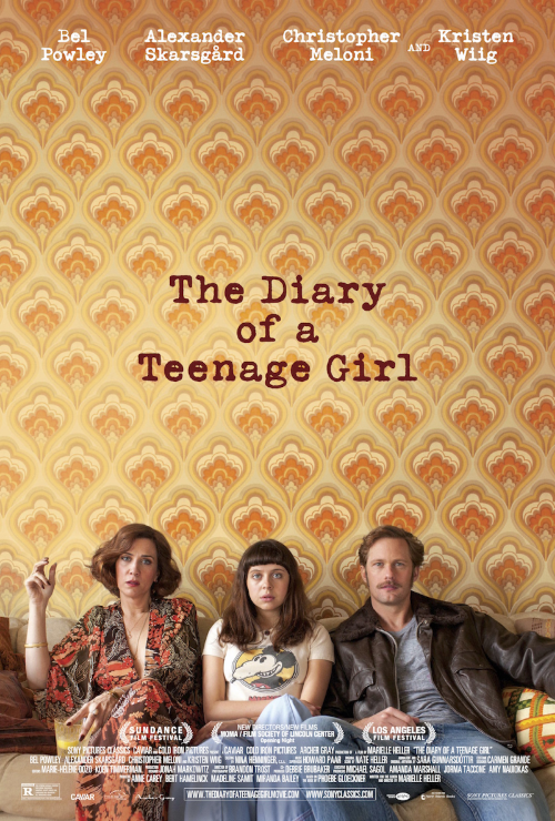 Diary of a Teenage Girl, film poster 2015