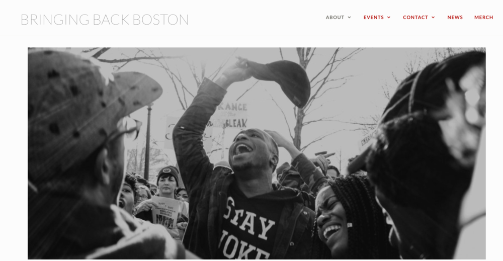 Bringing Back Boston   Developed this website for a Boston-based non-profit on Wordpress.