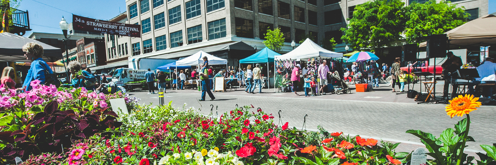 Image: Don Peterson / Historic Roanoke Farmers Market
