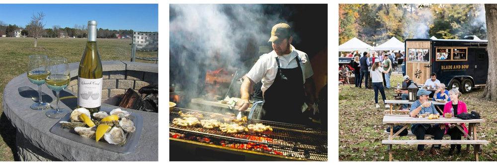 Images: Chatham Vineyards / Fire, Flour, & Fork