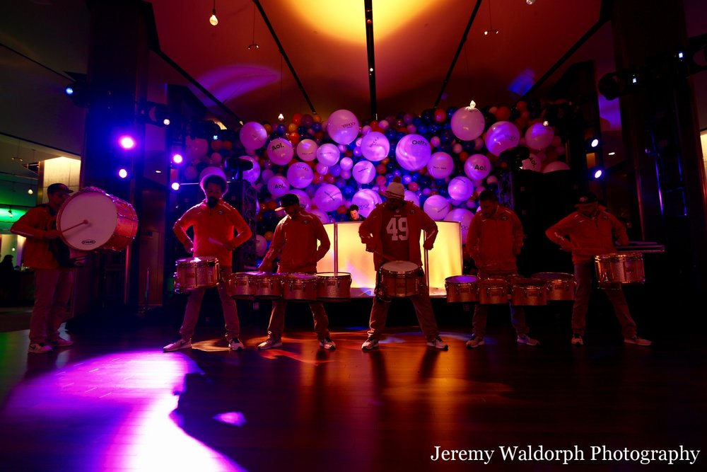 Los Gatos DJ - Oath YEP Holiday Party 2017 - SF 49ers Drumline - Jeremy Waldorph Photo.jpg