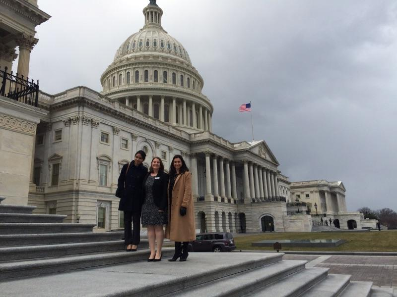 L-R HPSA members: Paawan Singh, Liz Kelman, and Marianthi Hatzigeorgiou