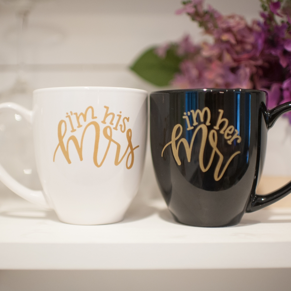 The Bride Box mug set