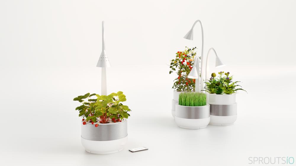 SproutsIO Indoor Grow Food App Tech
