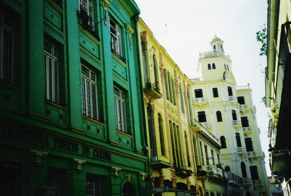 Cuba_Colored Buildings